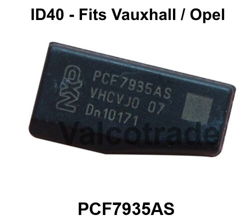 new transponder id40 t12 key chip for vauxhall pcf7935as. Black Bedroom Furniture Sets. Home Design Ideas