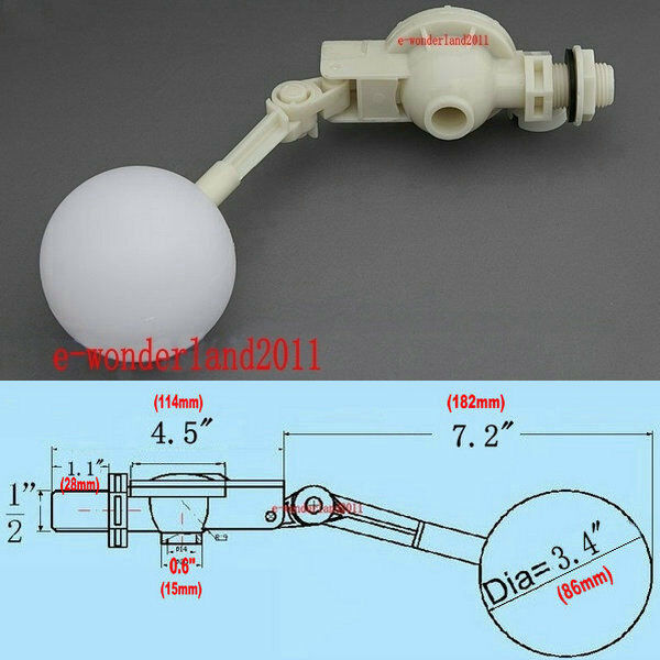 1 2 Quot Float Valve For Hydrologic Water Trough Dog Horse