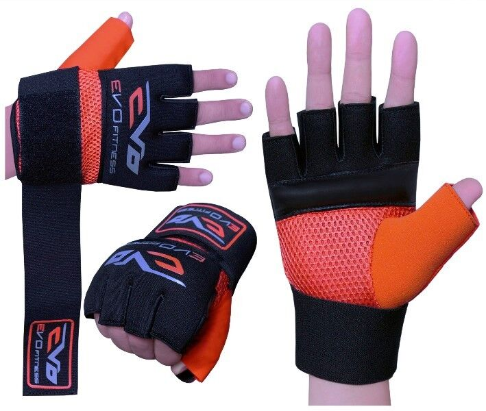 Fitness Inner Gloves: EVO Neoprene Boxing GEL Inner Gloves MMA Grappling Wrist