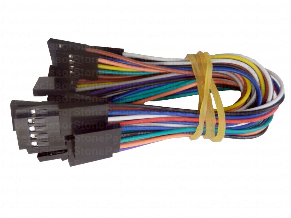 Jumper Cable Ends : Cm p female f arduino jumper cable cables wire