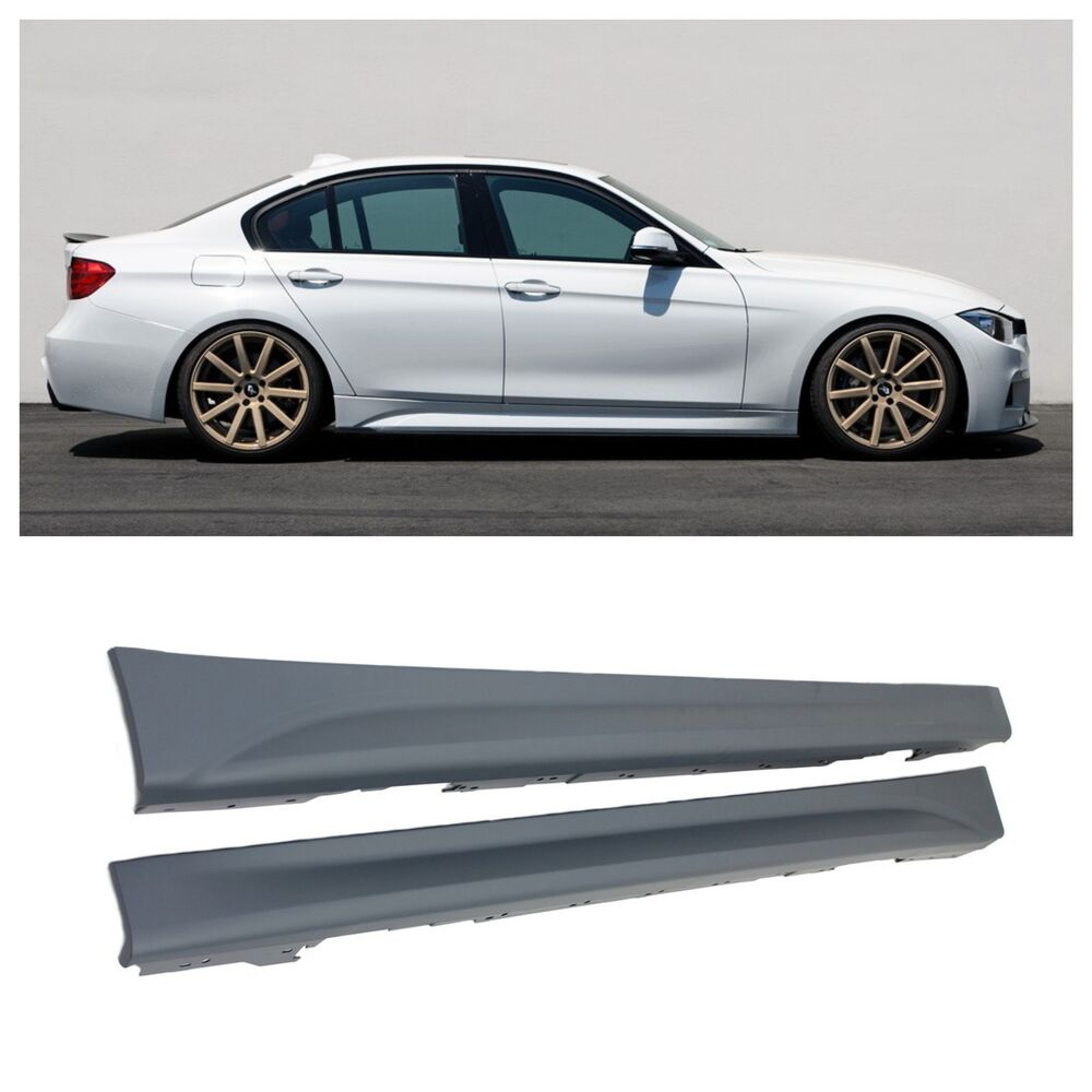 2012 2014 bmw f30 3 series performance side skirts 320i. Black Bedroom Furniture Sets. Home Design Ideas