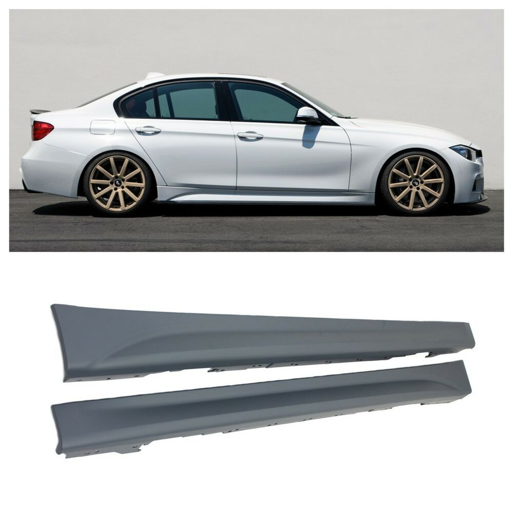 2012-2014 BMW F30 3 SERIES PERFORMANCE SIDE SKIRTS 320i