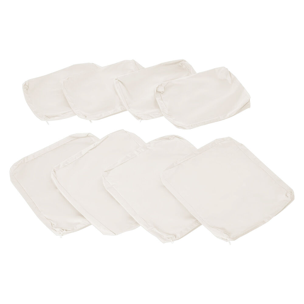 Outsunny 8pc Home Sofa Cushion Cover Replacement For