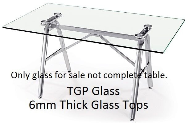 Replacement Patio Table Tops Made To Measure Tops 6mm Thick Glass Uk Based