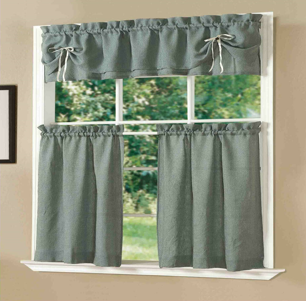 Beautiful Lucia Kitchen Curtain