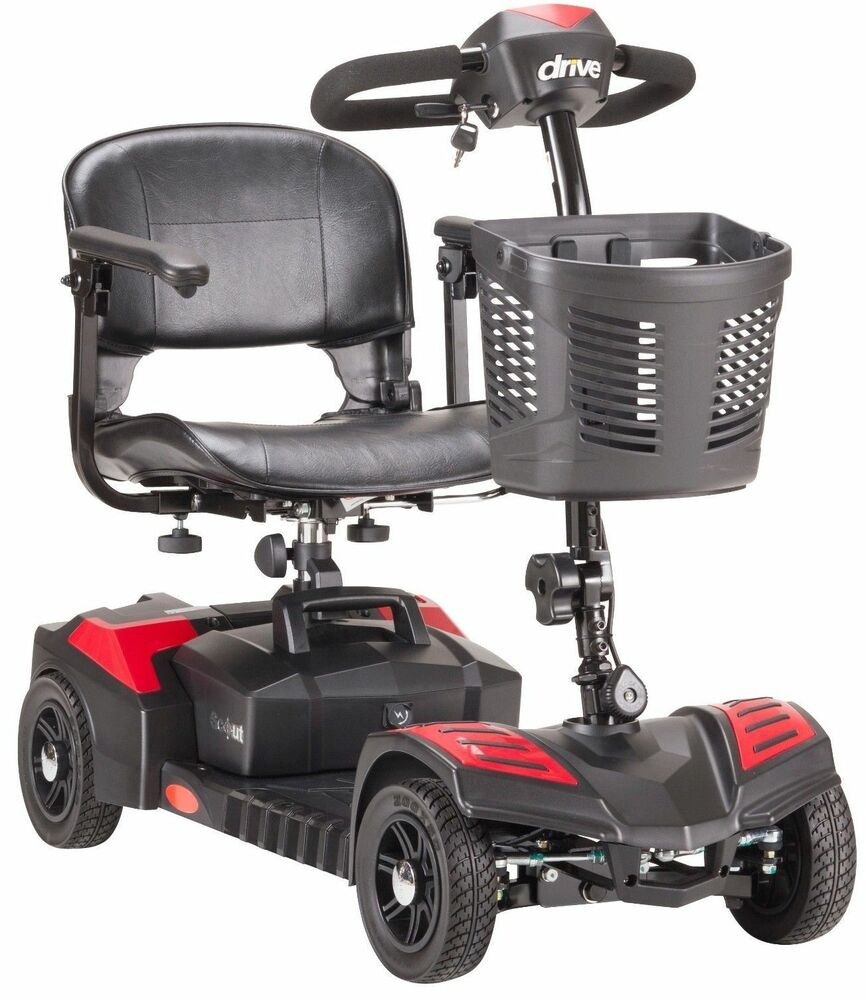 4 Wheel Drive Power Scooter Medical Mobility Disability