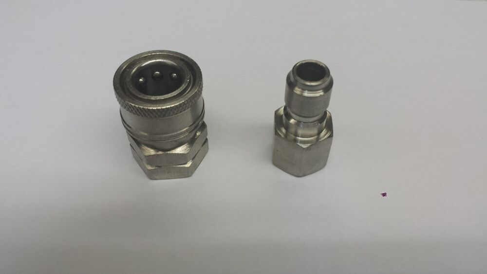 Quot quick connect fittings for pressure washer female