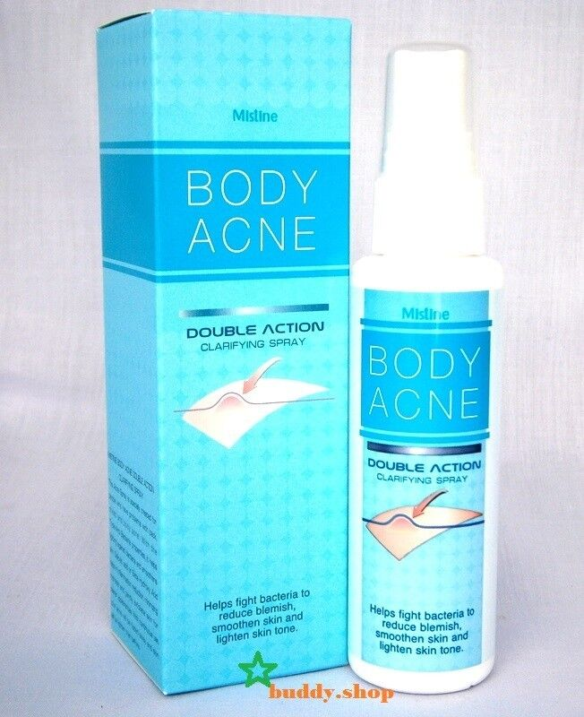 Mistine BODY ACNE SPRAY Treatment Smooth spots Back,Chest