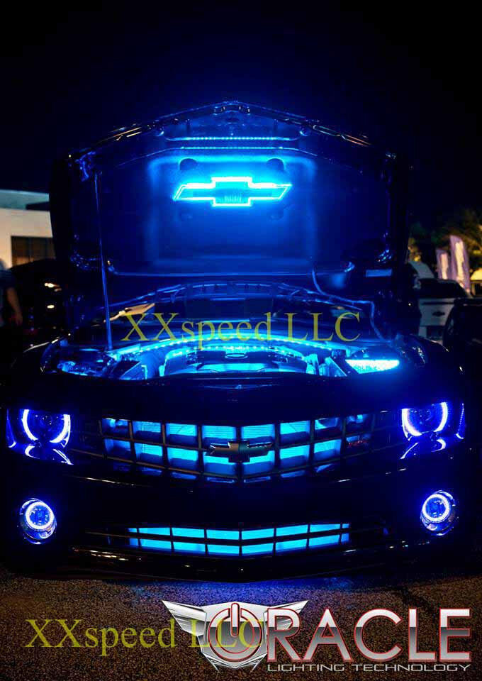ORACLE Chevrolet Camaro 2010-2013 BLUE LED Headlight Halo ...