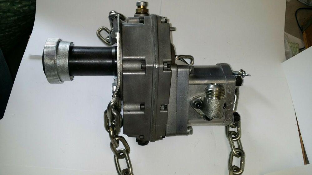 Tractor Pto Gearbox : Hydraulic pto pump wgearbox for tractor backhoe loaders