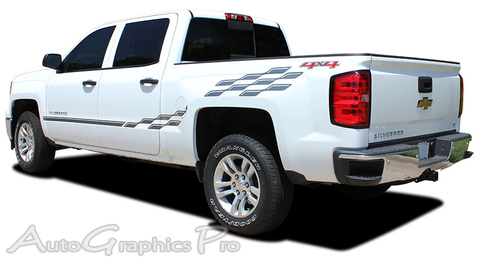 For Chevy Silverado Crew Cab Ee2363 Graphics Kit Decals