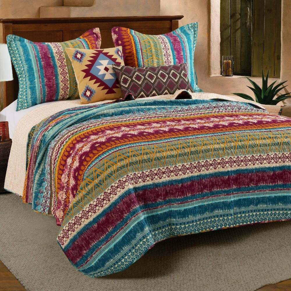 Beautiful Pale Blue White Grey Shabby Country Chic Lace Ruffle Duvet Cover Set Ebay
