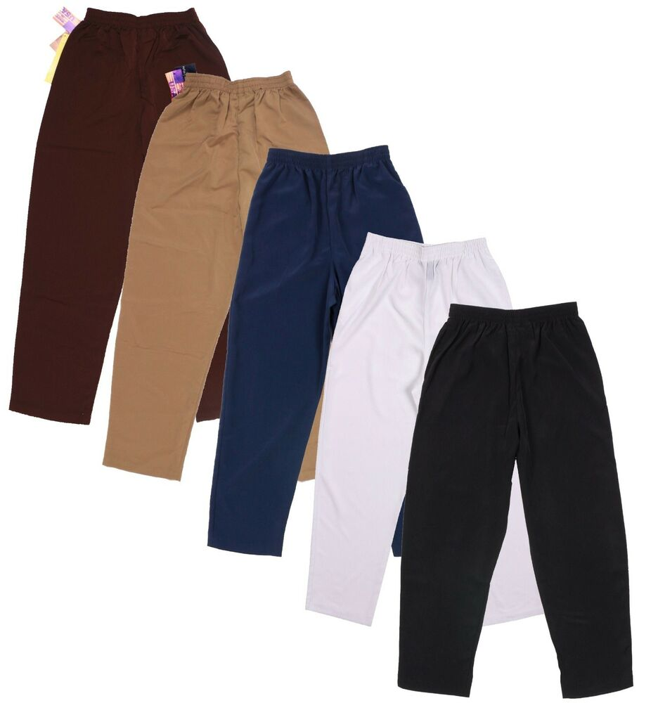 Susan Graver QVC Style Petite Size Pull On Pants Assorted Colors