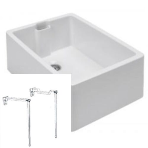 Belfast Butler Kitchen Sink and Cast Iron Legs and bearers Supports ...