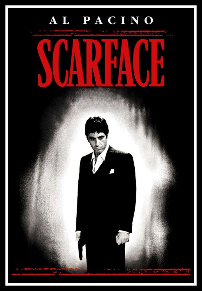 scarface fridge magnet 6x8 al pacino magnetic movie poster