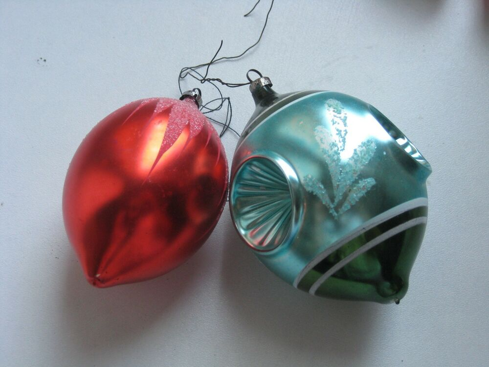 vintage german glass christmas ornament eBay
