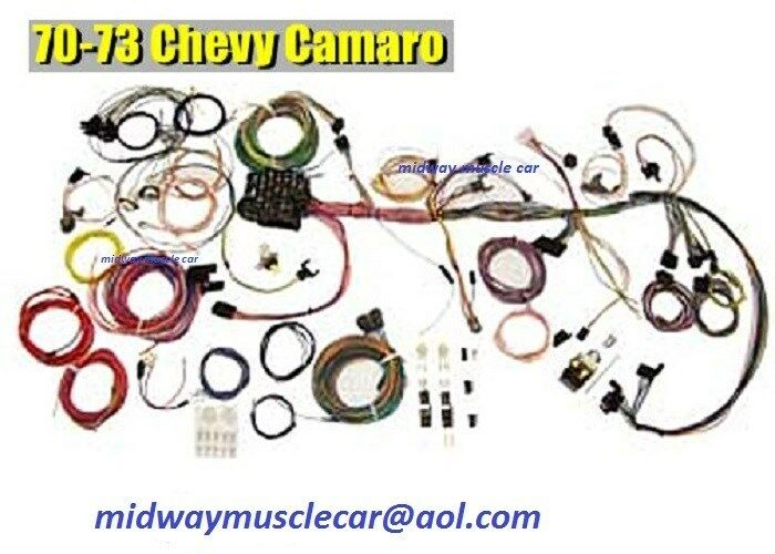 70 71 72 73 chevy camaro wiring kit classic update wiring harness series ss z 28 ebay. Black Bedroom Furniture Sets. Home Design Ideas