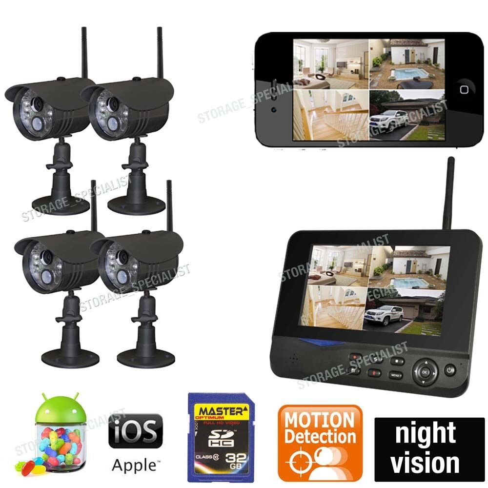 Wireless Home Security Camera Systems For Home Wifi Nanny