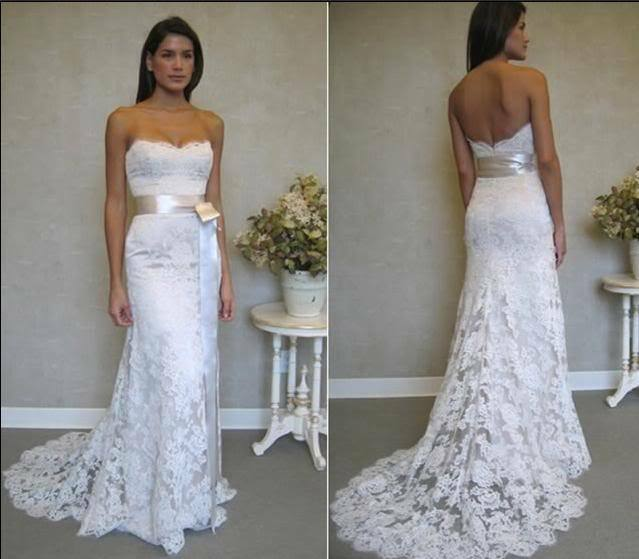 lace wedding dress bridal gown custom size 6 8 10 12 14 16 ebay