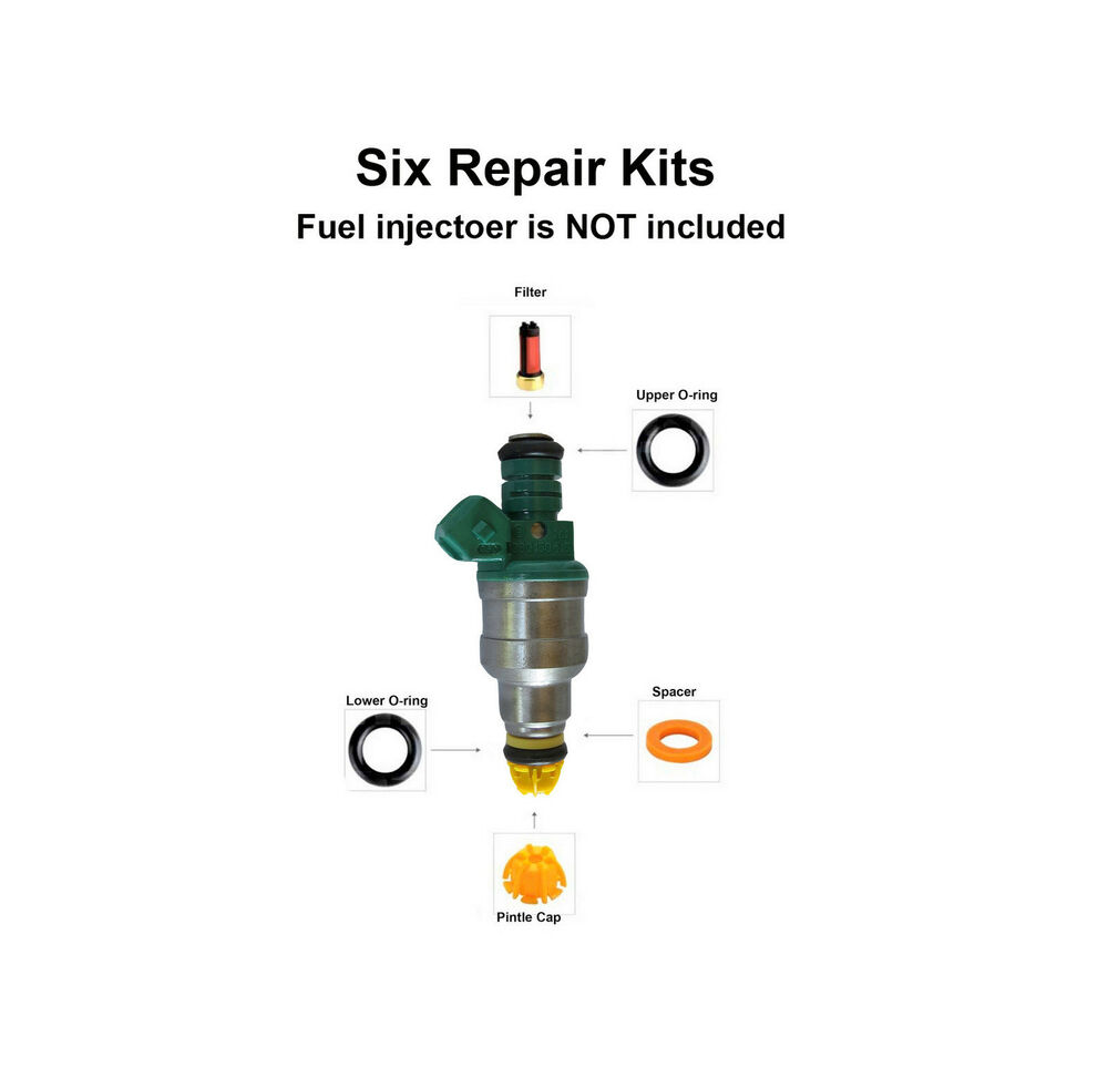 Fuel Injector Service Repair Kit 004 Fits Bmw 323 325 M3