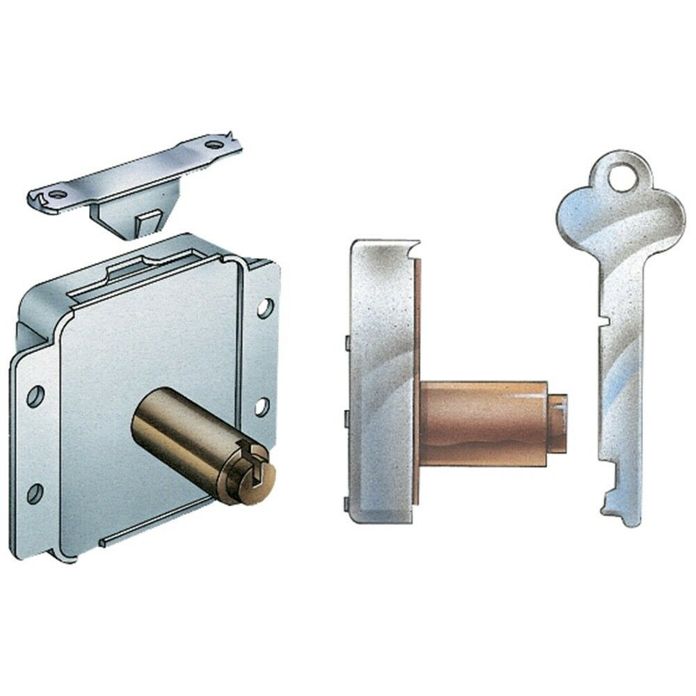 Surface mounted cedar chest lock and latch hardware for Surface lock