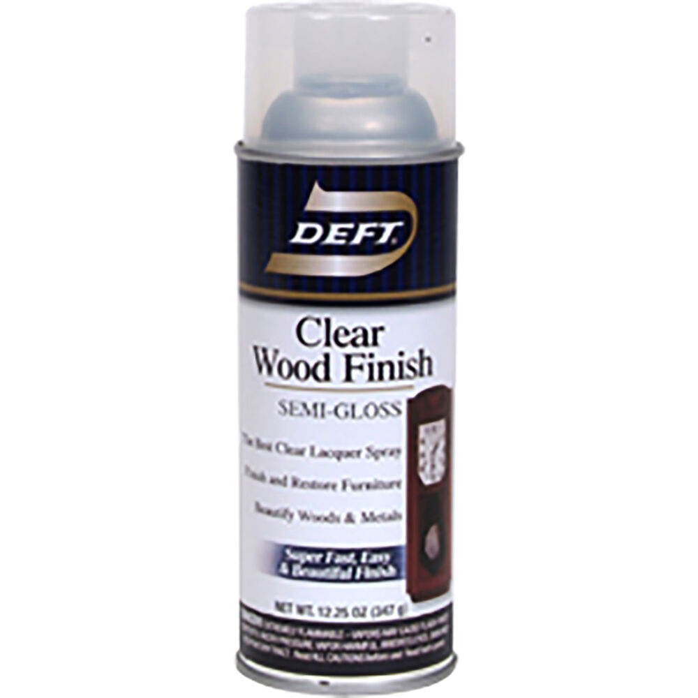 Deft Semi Gloss Wood Finish Spray Ebay