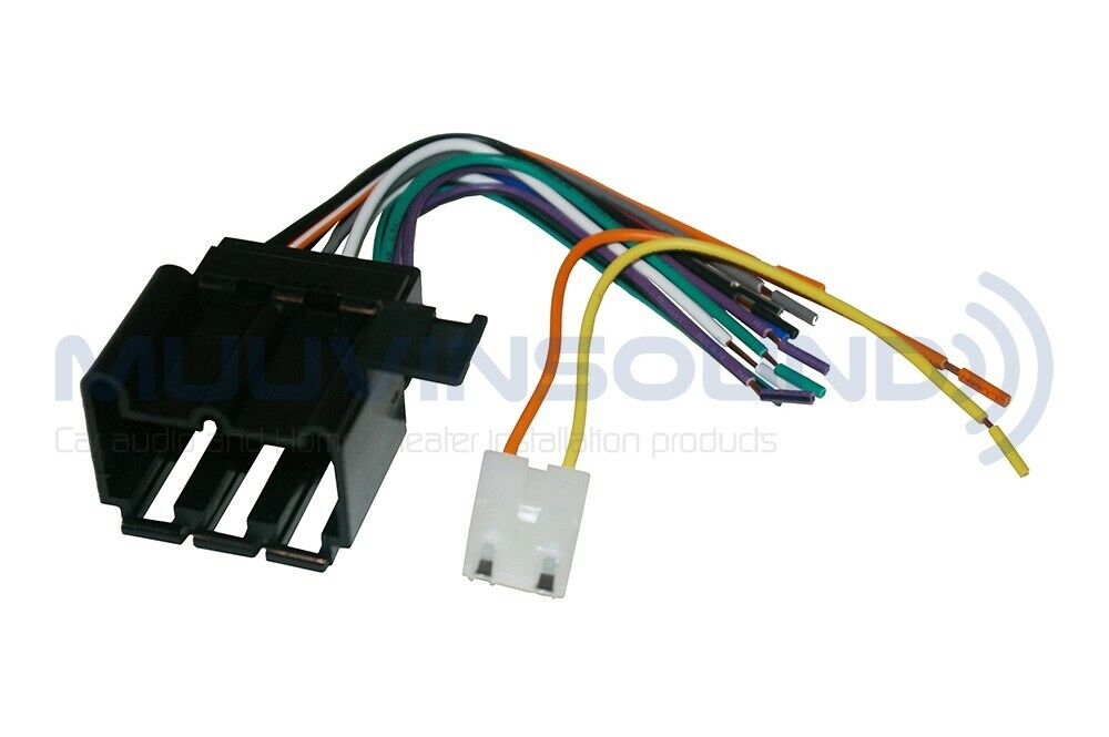 Car Radio Wiring Harness For Aftermarket Stereo