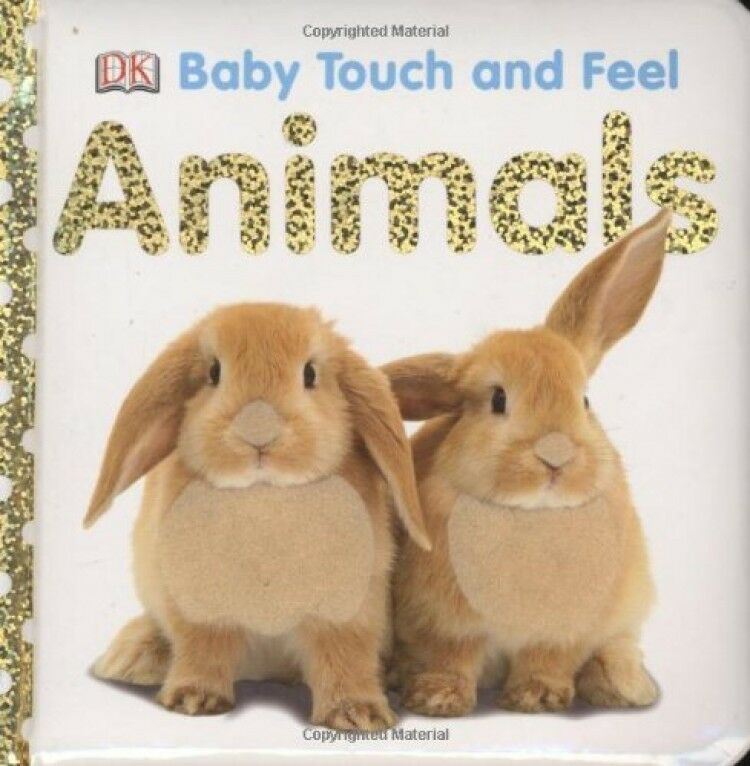 Animals Baby Touch And Feel By Dk Publishing Board Book