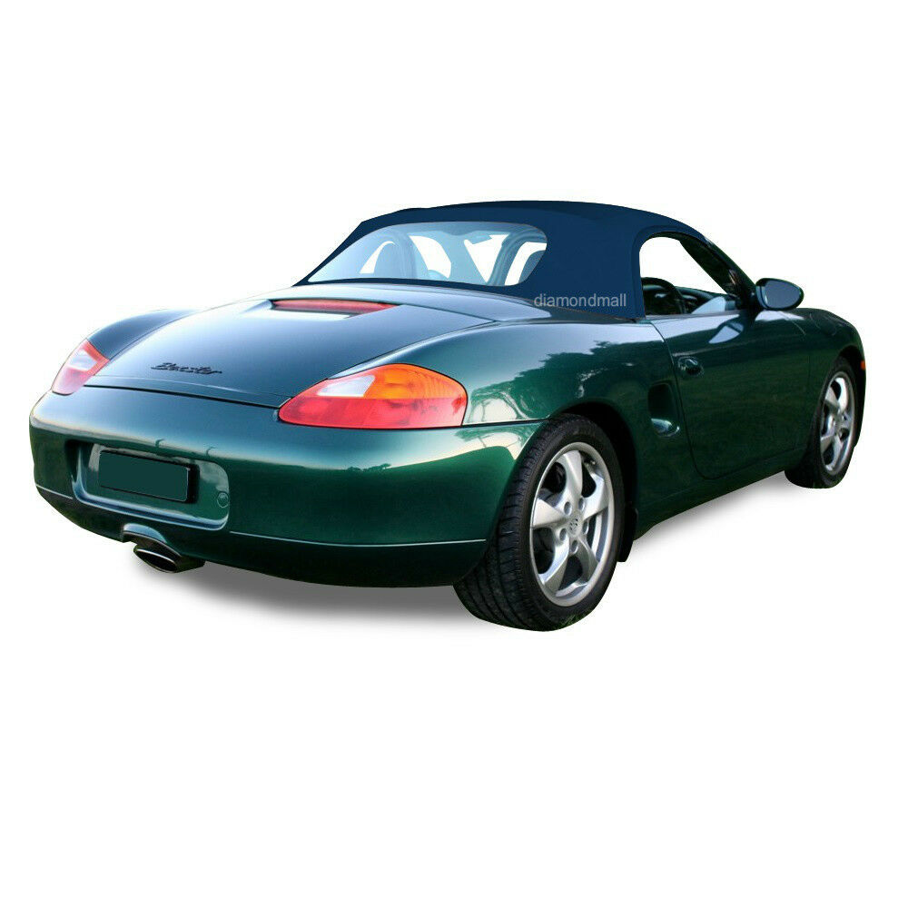 porsche boxster 986 convertible soft top replacement 1997 2002 blue german ebay. Black Bedroom Furniture Sets. Home Design Ideas