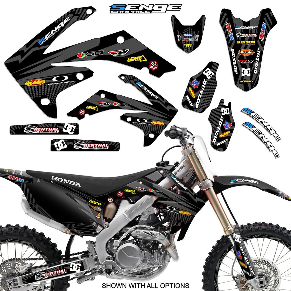2013 2014 2015 2016 crf 450r graphics kit crf450r 450 r deco decals stickers ebay