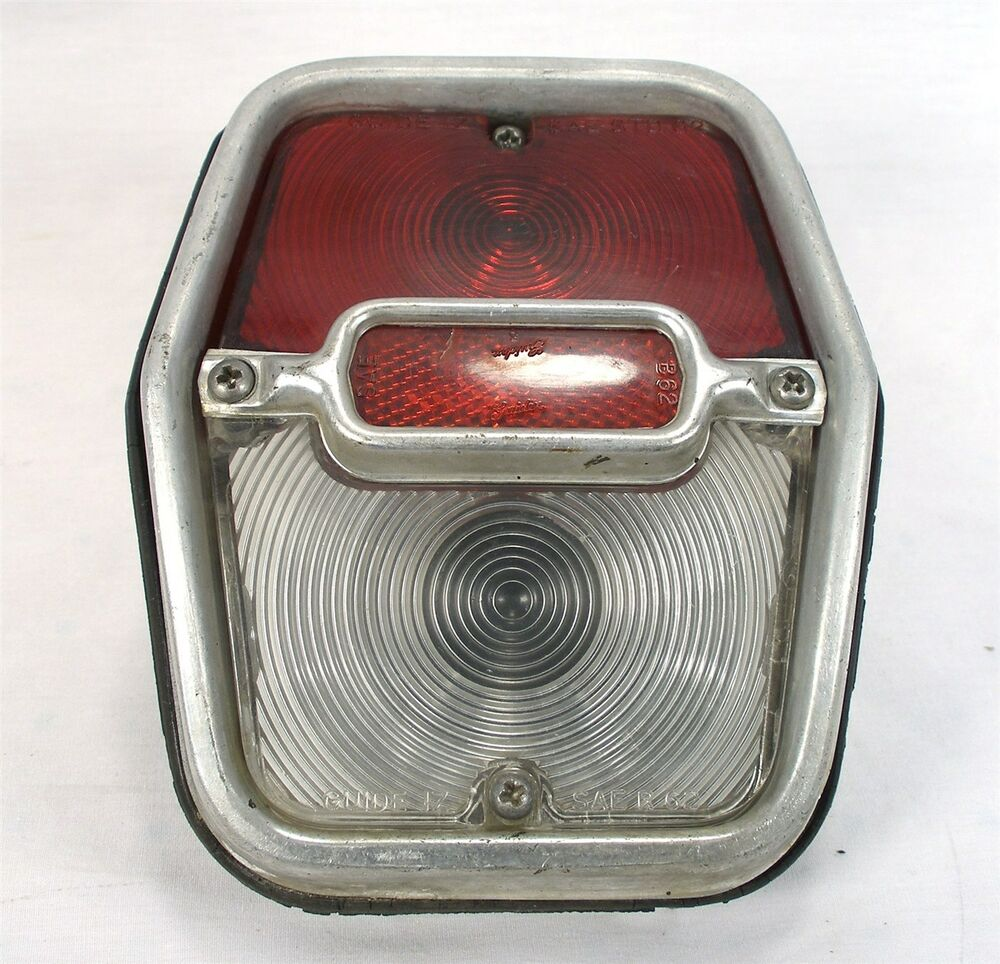 Original 1962 64 Chevrolet Nova Chevy Ii Tail Light