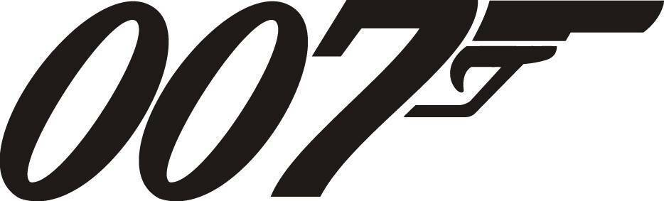 007 james bond decal wall sticker silhouette home decor for Decor 007