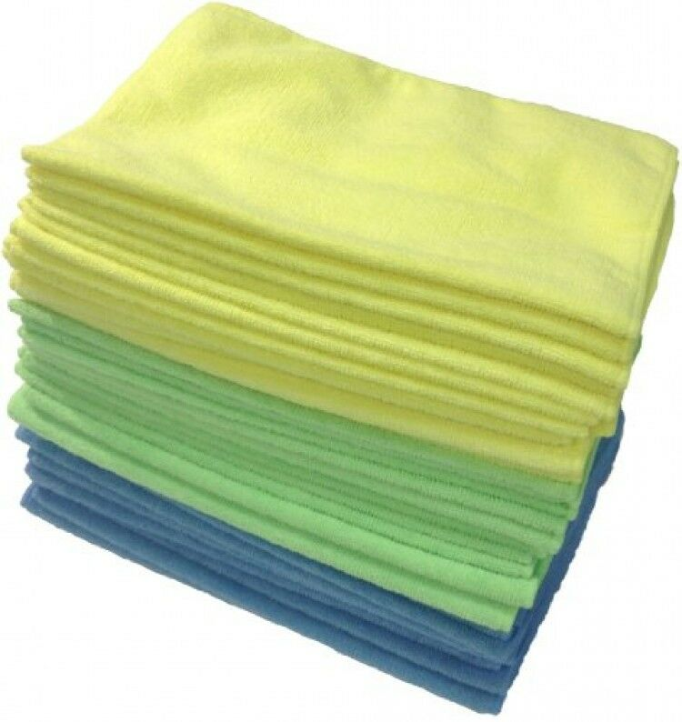 Microfiber Detailing Towels: Zwipes Microfiber Cleaning Cloths, 36-Pack, Anti-Scratch