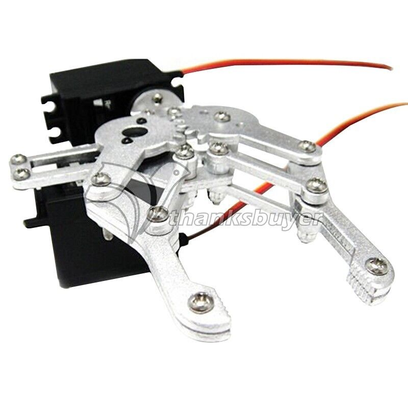 Hydraulic Robot Claw : As dof alluminum alloy mechanical claw holder robotic arm
