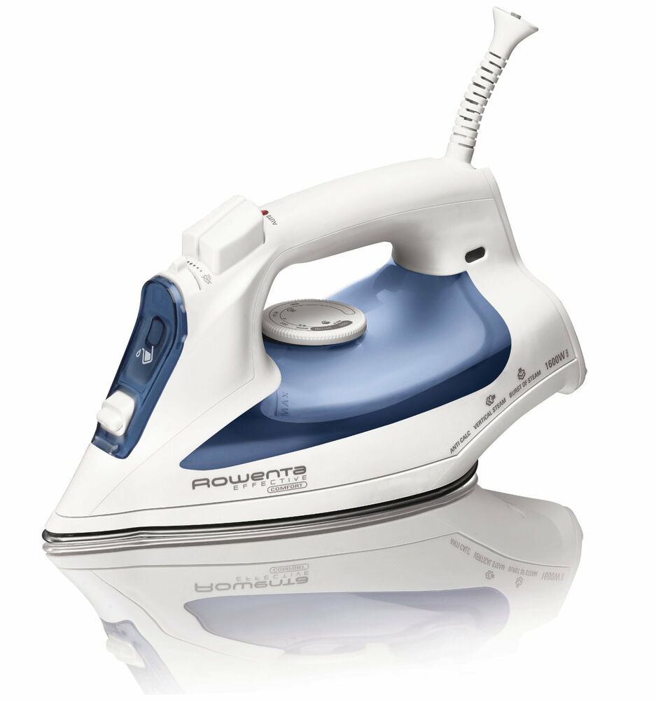 rowenta effective comfort steam iron with 300 hole stainless steel dw2070 new ebay. Black Bedroom Furniture Sets. Home Design Ideas