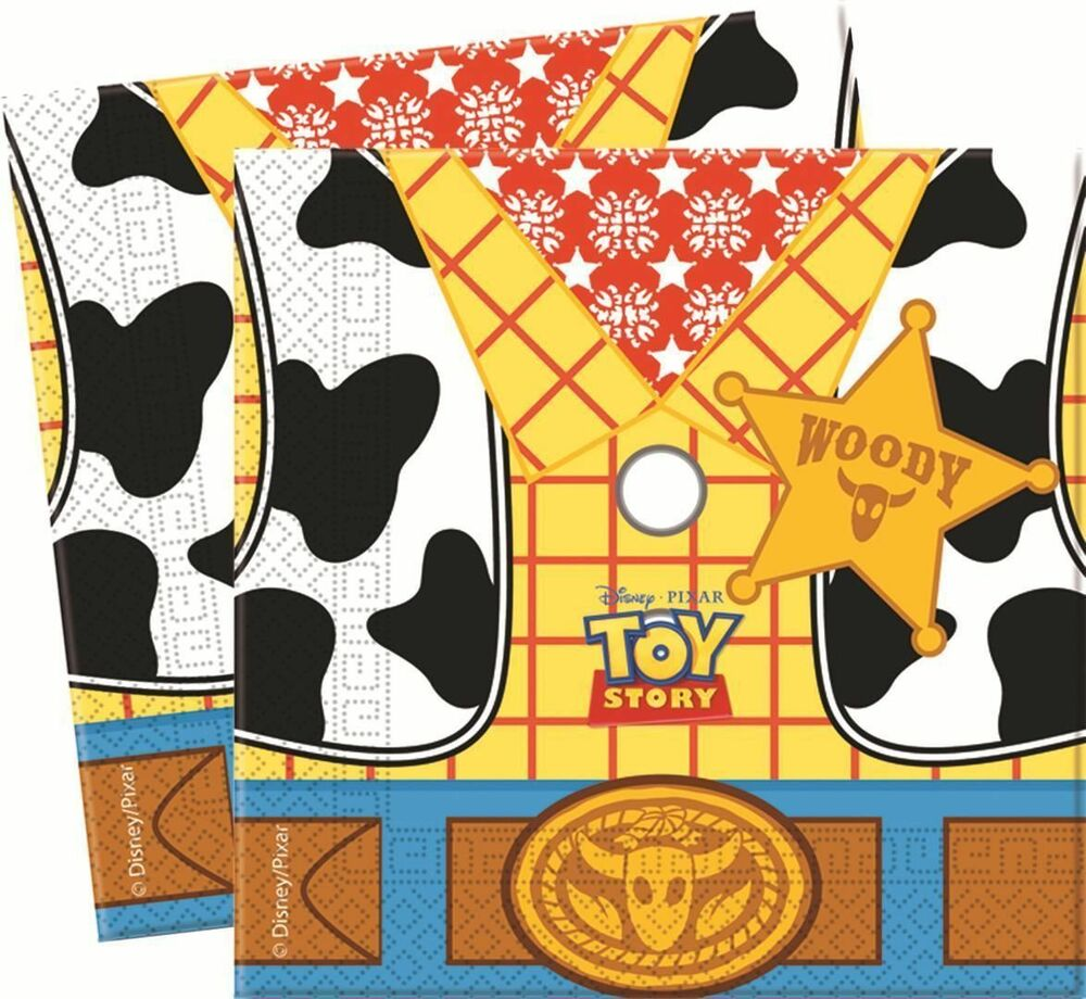 Toy Story Birthday 20 Party Party Napkins Tableware Decorations Boy ...