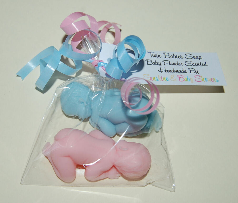 Beautiful TWIN BABIES Soap Baby Shower Gift Prize Favour