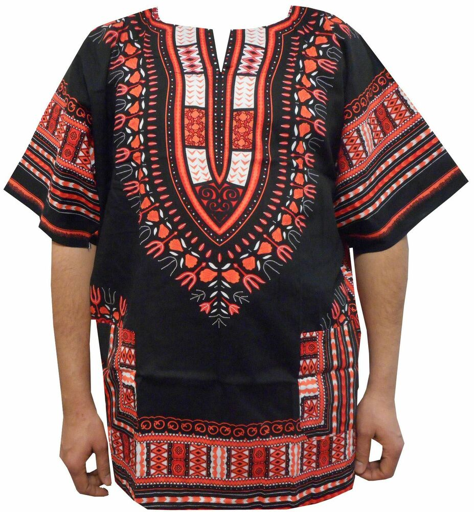 Black Woman Hippie: Mexican Dashiki Shirts African Mens Party Unisex 70s