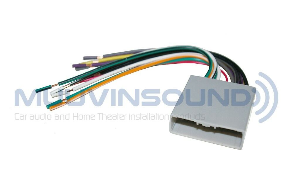 radio wiring wire harness aftermarket stereo installation