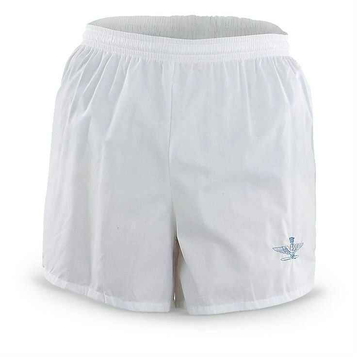 Details About Mens See Through Thru When Wet White Cotton Board Shorts Swim Trunks Nude Look