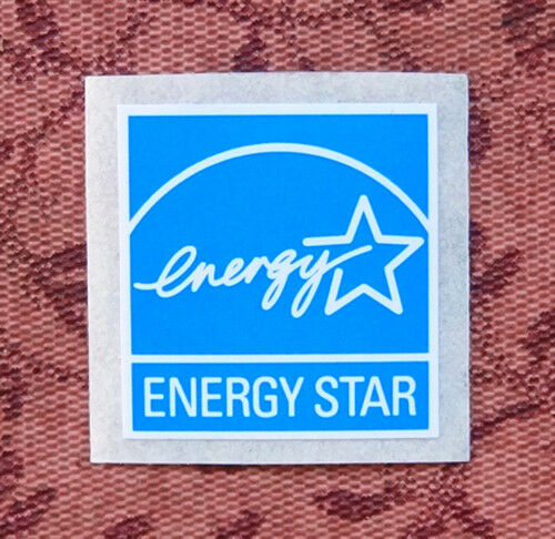 Energy star blue sticker 19 5 x 20mm case badge logo label 5 star energy