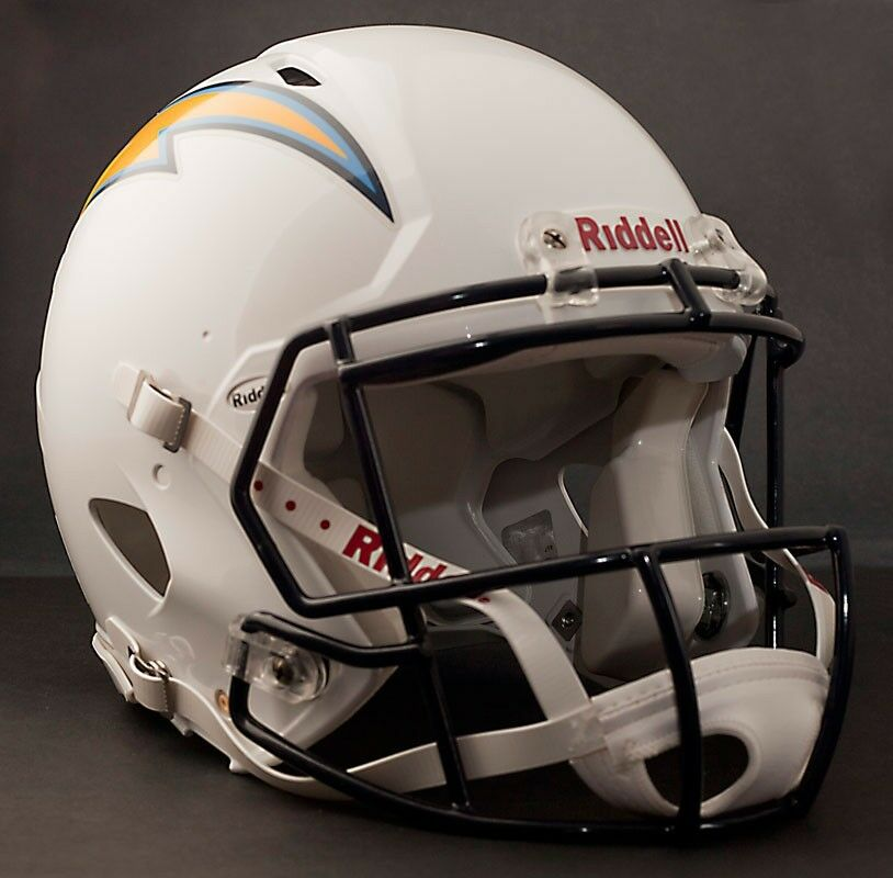 San Diego Chargers Football Helmet: **GAMEDAY-AUTHENTICATED** San Diego Chargers NFL Riddell