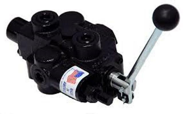 Hyd Control Valve Parts : Prince hydraulic control valve series single spool