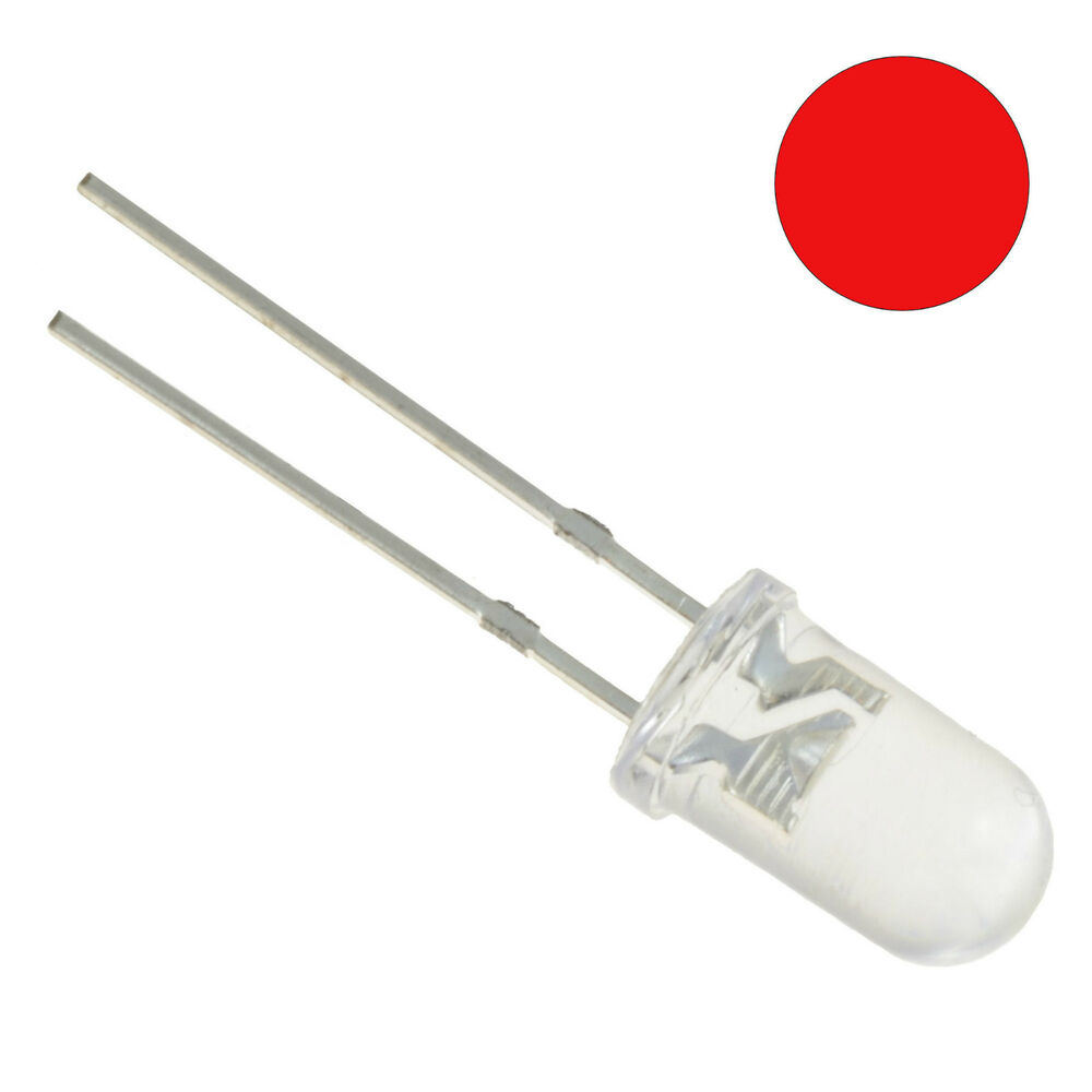 10 X Red Flickering Candle Effect 5mm Led Bulb Ebay Flicker Circuit