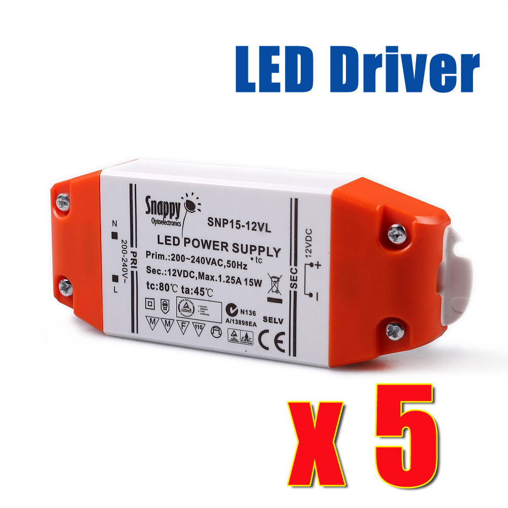 Mr16 Led Transformer Bunnings: MR16 Electrical Led Driver Transformer 12V 15W Constant