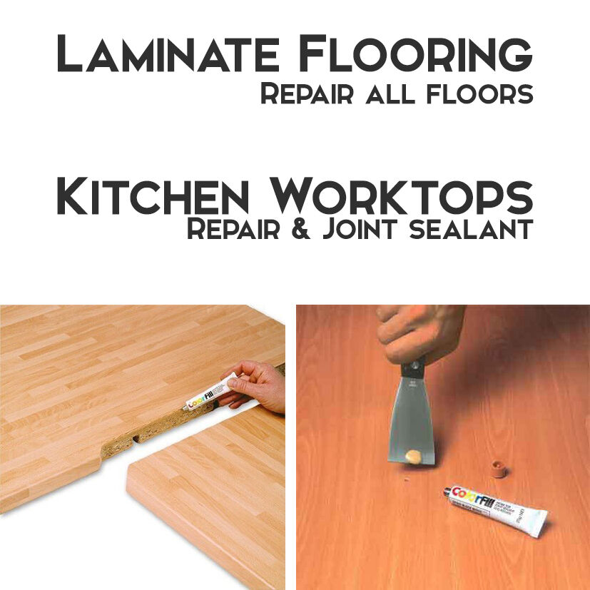 Laminate Wood Flooring Kitchen Worktop Repair Sealant