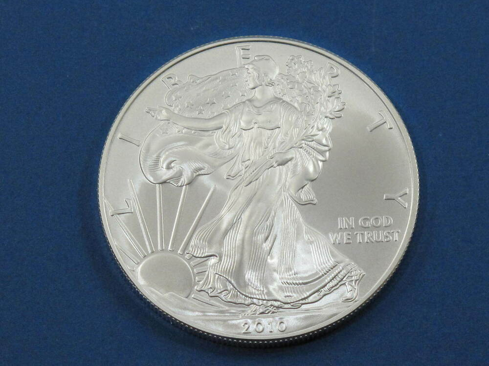 2010 American Silver Eagle Walking Liberty Coin 1oz 999