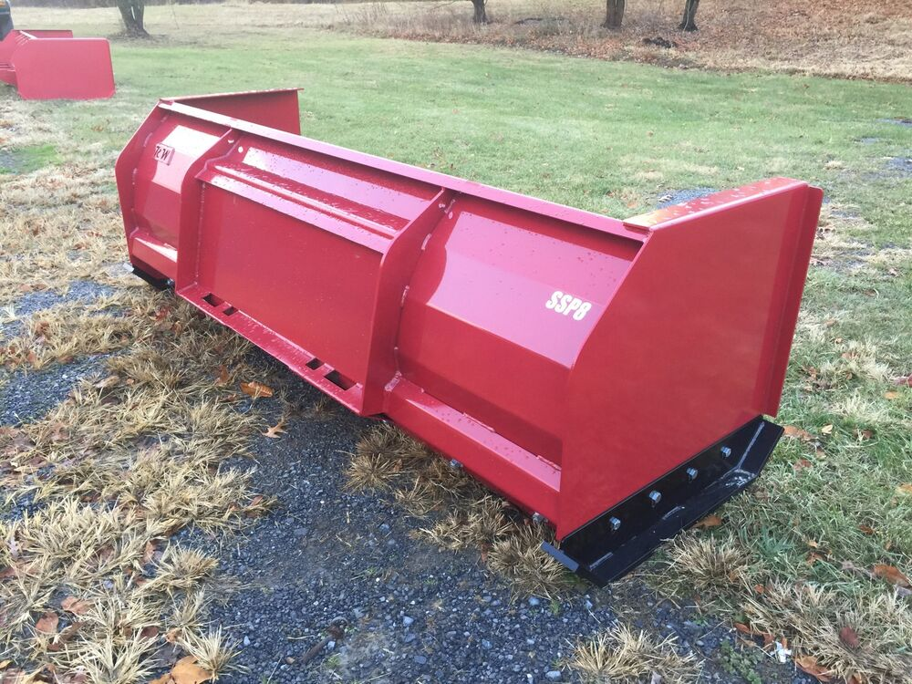 Skid Steer Tool Box : New quality snow pusher box blade for skidsteer