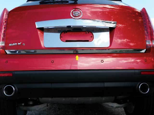2010 2011 2012 2013 2014 Cadillac Srx Stainless Steel Rear