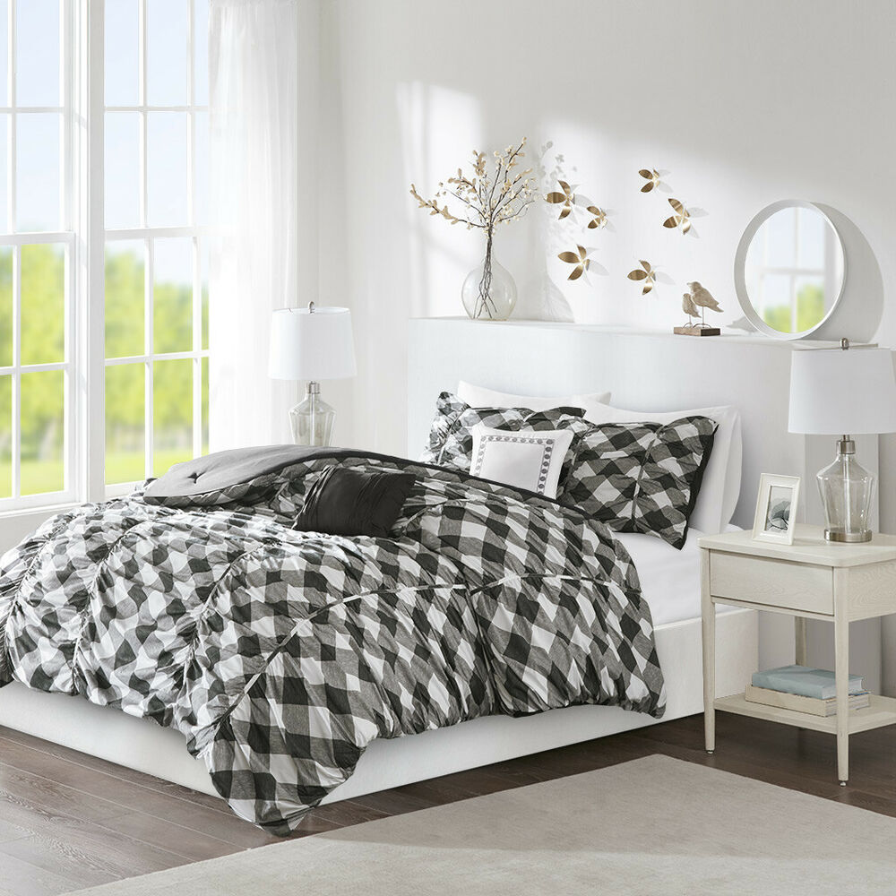 Beautiful 8pc Modern Chic Light Sea Blue Brown Beige Grey Comforter Set Amp Sheets Ebay